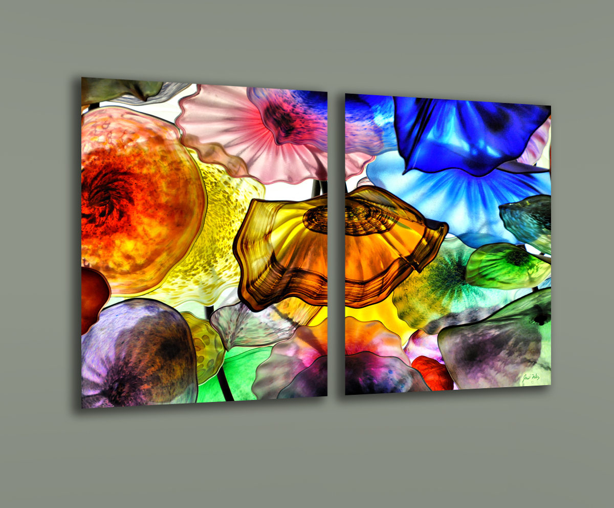 acrylic photo print with metallic paper