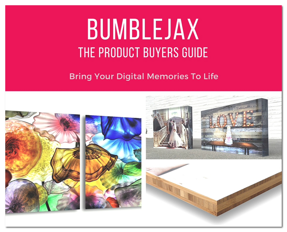 Buyer guide for acrylic, bamboo, dibond and aluminum prints.