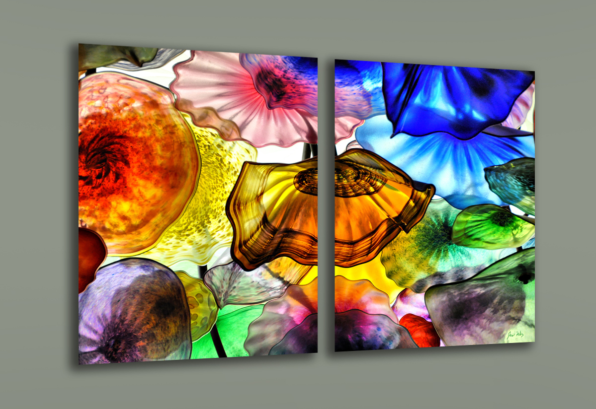 chihuly bellagio acrylic print